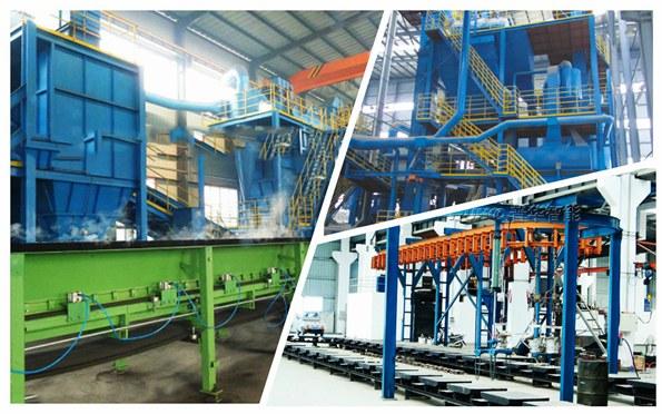 树脂砂混砂机设备在配备电机的技巧与应用-青岛普华重工